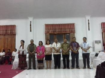 Susunan Majelis Sinode GMIT Periode 2015-2019