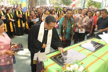 Peresmian Gedung GMIT Kalvari Maumere dan Konven Pendeta – Sebuah tanda iman