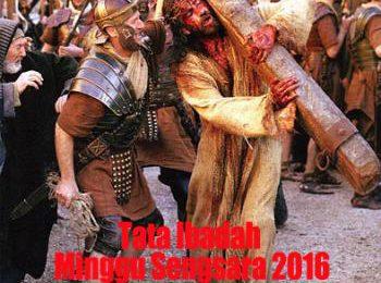 Tata Ibadah Minggu Sengsara I-III