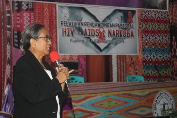 PELATIHAN PENDAMPINGAN PASTORAL HIV/AIDS DAN NARKOBA