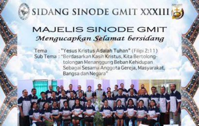 Selamat mengikuti Persidangan Sinode XXXIII di Rote