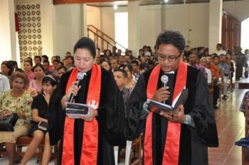 Kebaktian Perhadapan Pendeta Maranatha Oebufu