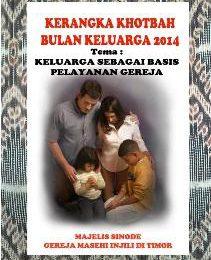 Kerangka Khotbah Bulan Keluarga Oktober 2014 – Bahan Minggu VI dan 31 Oktober