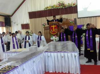 Perjamuan Kudus Menandai Penutupan SS GMIT XXXIII – SS GMIT XXXIII