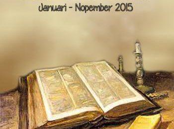 Bahan Bacaan 2015 – Berdasarkan damai sejahtera Kristus, kita tingkatkan peran serta anggota GMIT dalam pelayanan holistik