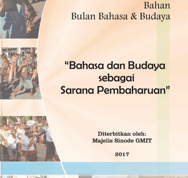 Suara Gembala Bulan Budaya & Bahasa 2017 -Sinode GMIT