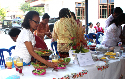 Peringati Hari Kartini, Perempuan GMIT Jemaat Maranatha Oebufu Gelar Lomba