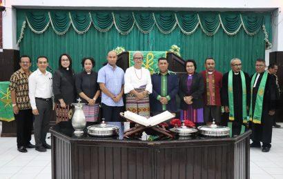 Hari ini MS Sinode GMIT Adakan Pastoral Politik Bagi Paslon Bupati  dan Wakil Bupati di Kabupaten Rote Ndao