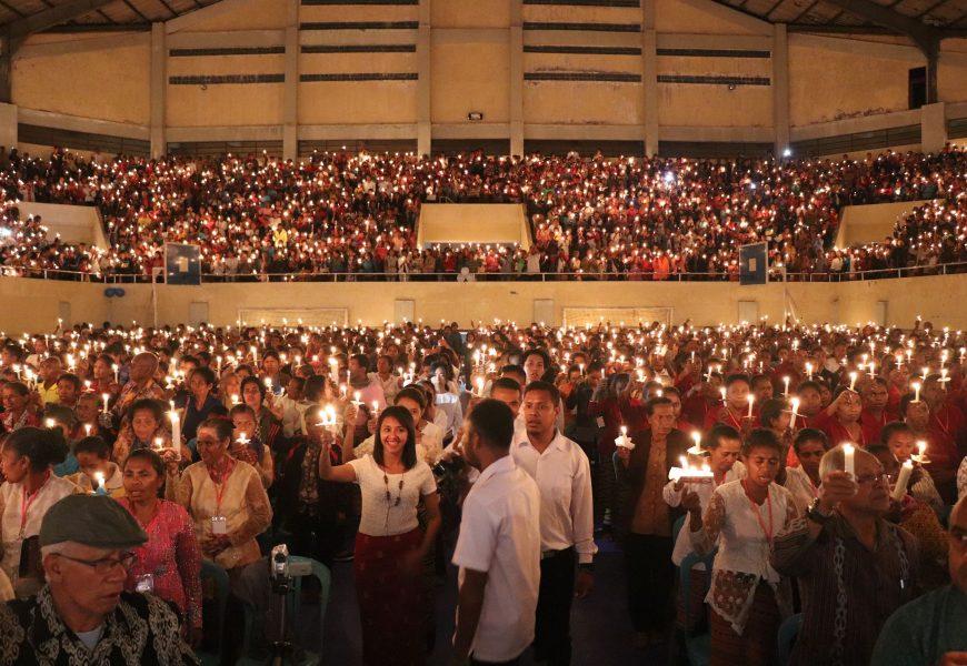 Ribuan Anggota Persekutuan Doa GMIT Rayakan HUT GKR