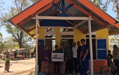Anggota GMIT di Amanuban Timur Terima Bantuan Diakonia 60 Unit Rumah dan Sumur Bor