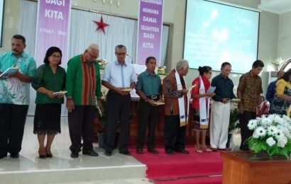 Jemaat Syalom Kupang Adakan Gerakan Literasi Sambut Tahun Baru 2019