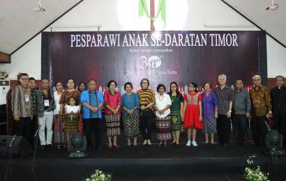 Jemaat GMIT Kota Baru Gelar Pesparawi Anak se-Daratan Timor