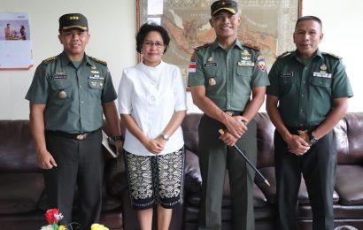 Danrem 161 Wirasakti-Kupang Temui Ketua Majelis Sinode GMIT
