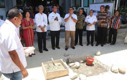 Peletakan Batu Pertama RTH Kantor Majelis Sinode GMIT