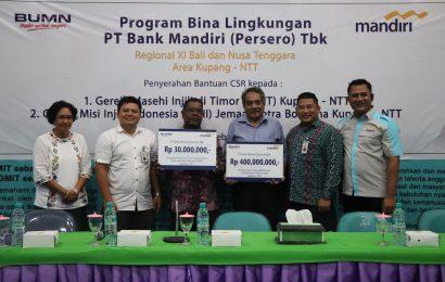 Bank Mandiri Bantu GMIT 400 Juta Rupiah