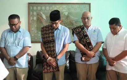 Kunjungi Majelis Sinode GMIT, Sandiaga Uno Tegaskan Tidak Mencari Dukungan Suara