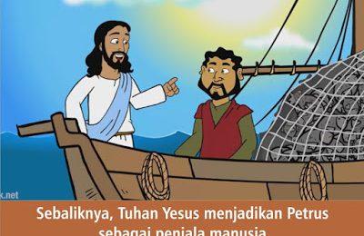 KRISTUS MEMANGGIL KITA UNTUK TURUT DALAM PELAYANAN-NYA