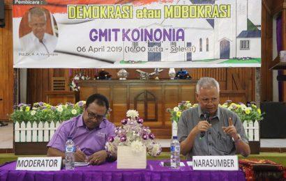 Lantik Pejabat Pada Hari Minggu, Pdt. Dr. Andreas Yewangoe Berharap Pemerintah NTT Dengar Suara Gereja