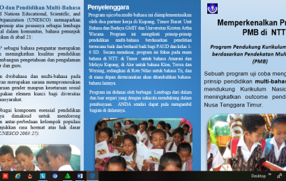 Program Pendekatan Multi Bahasa di NTT