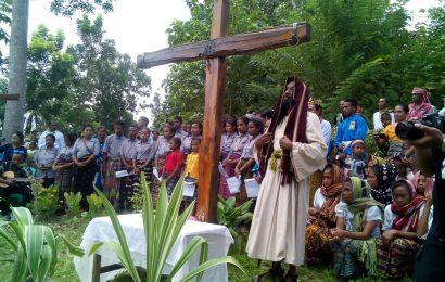 Merajut Kerukunan Melalui Prosesi Paskah di Klasis Amanuban Timur