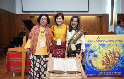 Catatan dari Asian Ecumenical Women's Assembly 2019 — Pdt. Dorkas Nyake Wiwi