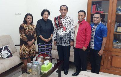 Ketua MaJelis Sinode GMIT Kunjungi Gubernur NTB