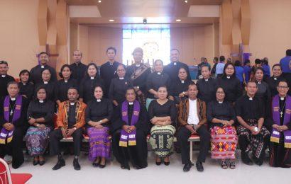 Kebaktian Perhadapan BPP Sinode dan UPP Majelis Sinode GMIT Periode 2020-2023: Membangun Soliditas dan Merawat Integritas