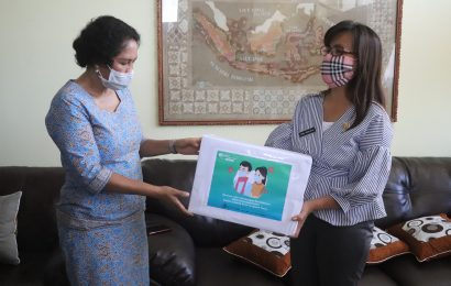 Dinkes NTT Sumbang 5 Ribu Masker Untuk GMIT