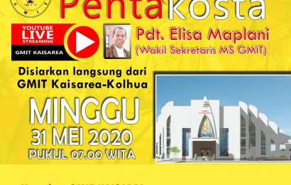 Live Streaming Kebaktian Pentakosta 2020