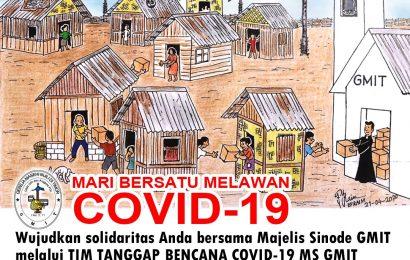 Tangguk Tanggap Bencana Covid-19 Sinode GMIT