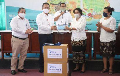 Bank NTT Sumbang Masker dan Face Shield Untuk GMIT