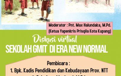 Webinar Pendidikan di Sekolah GMIT