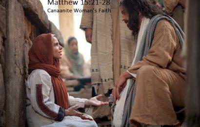 Iman Diwujudkan Dalam Tanggungjawab (Matius 15:21-28) – Pdt. Gusti Menoh