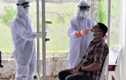 Pendeta se-Klasis Kupang Barat Ikut Swab PCR