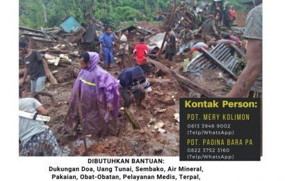 Posko Tanggap Bencana Siklon Seroja – MS GMIT