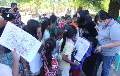 Tim Trauma Healing UKM Bandung Kembalikan Kegembiraan Anak-Anak Korban Bencana