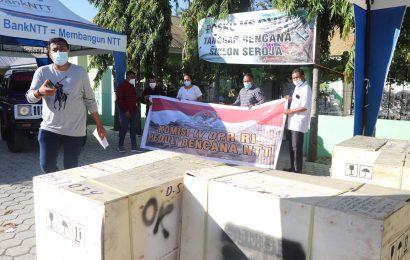 Komisi IV DPR-RI Sumbang 5 Unit Genset Untuk Posko Tanggap Bencana GMIT