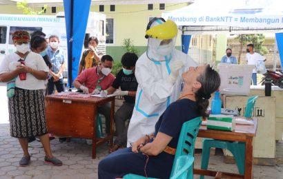 Tim Tanggap Bencana MS GMIT Tes Swab PCR