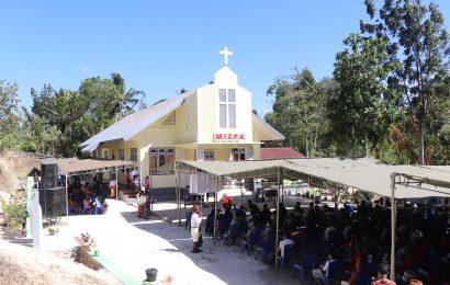 Penahbisan Gedung Kebaktian Jemaat Mizpa Bonen dan Emeritasi Pdt. Miz Suy-Daniel