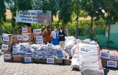 Laporan Situasi (Sitrep) Bencana Siklon Seroja di Wilayah GMIT #8; 25-27 April 2021