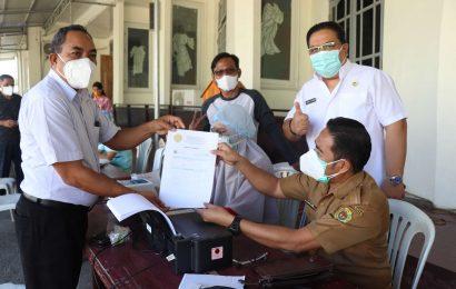 Pendeta se-Klasis Kota Kupang Timur Ikut Swab GeNose