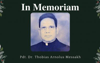 Ibadah Syukur Hidup, Pelayanan dan Meninggalnya Pdt. Emr. Dr. Thobias Arnolus Messakh