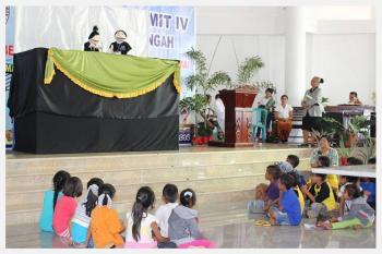 Jambore PAR Klasis Kupang Tengah – Saat meningkatkan talenta, kebersamaan dan persaudaraan