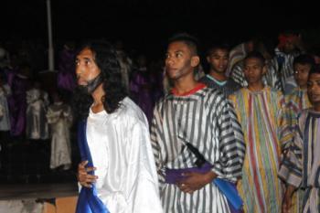 Pentas Jalan Salib – Pemuda Klasis Kota Kupang
