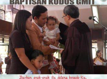 Tata Kebaktian Baptisan Kudus GMIT – Seri Kumpulan Liturgi GMIT