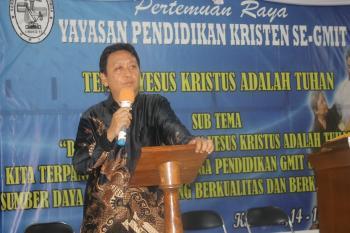 KETUA MAJELIS PENDIDIKAN KRISTEN INDONESIA: GMIT PUNYA RESOURCES