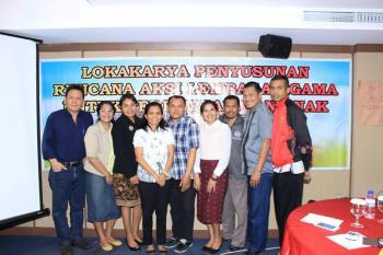 Lokakarya Penyusunan Rencana Aksi Lembaga Agama untuk Perempuan dan Anak