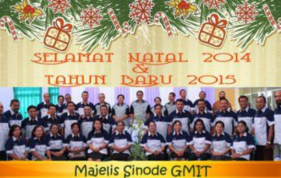 Selamat natal 2014 dan Tahun baru 2015