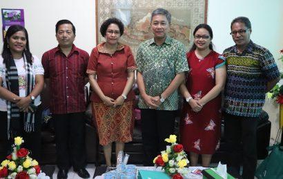 Perbaharui MoU, Pimpinan Langham Indonesia Bertemu MS GMIT