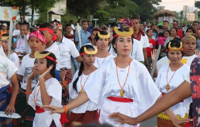 Tampilkan Budaya NTT, Dinas Pariwisata Promosi Pawai Paskah Etnis Jemaat GMIT Benyamin Oebufu